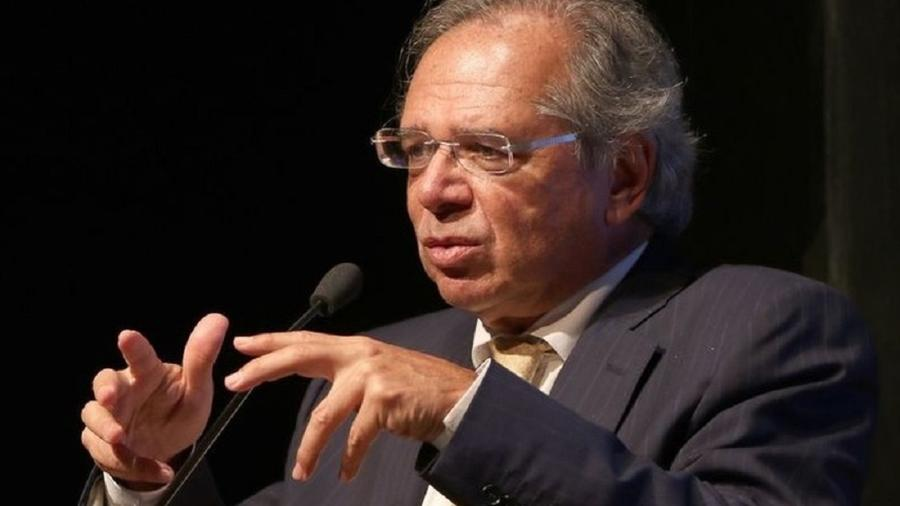 Paulo Guedes no Seminário da Revista Voto - Wilson Dias/Agência Brasil