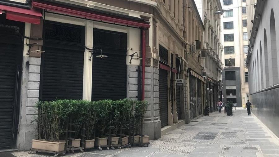 Café está fechado durante o período de quarentena em São Paulo - Reprodução/Facebook/Caffè Latte
