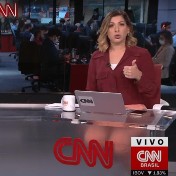 Daniela Lima, apresentadora da CNN