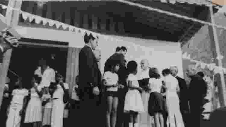 Escolha do Vidigal para visita acabou ajudando a evitar remoção de moradores da comunidade - ARQUIVO PESSOAL DE ARMANDO LIMA - ARQUIVO PESSOAL DE ARMANDO LIMA