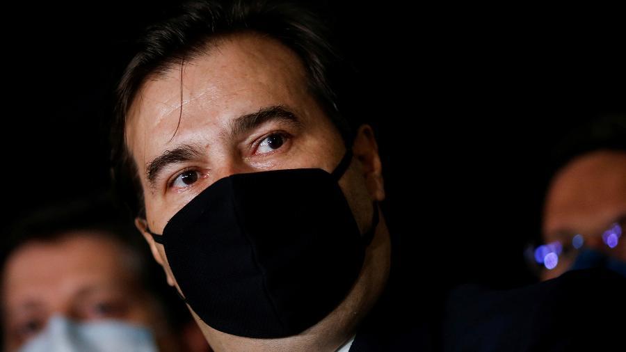 O presidente da Câmara dos Deputados, Rodrigo Maia, em Brasília -
