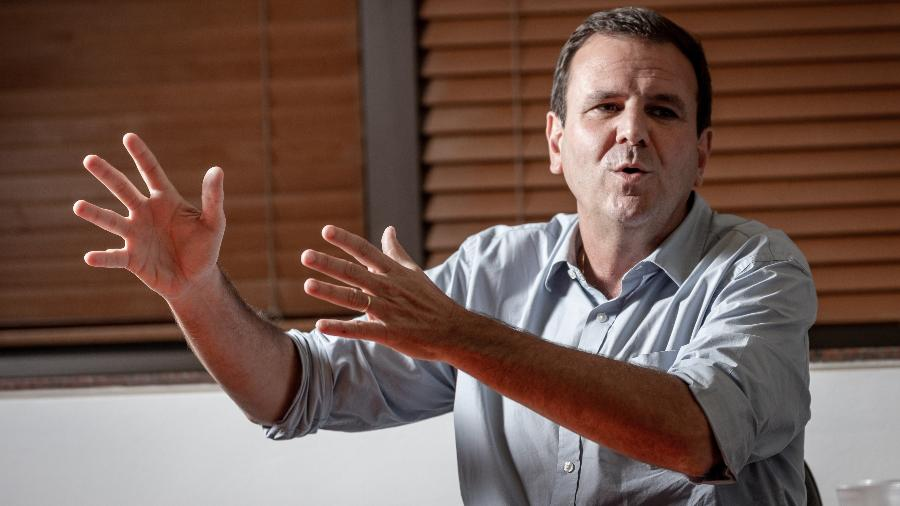 Eduardo Paes, novo prefeito do Rio de Janeiro, já teve duas baixas na equipe - Zô Guimaraes/UOL
