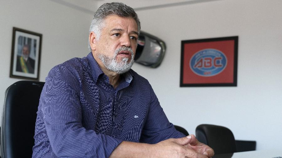 Wagner Firmino de Santana, presidente do Sindicato dos Metalúrgicos do ABC, - Divulgação