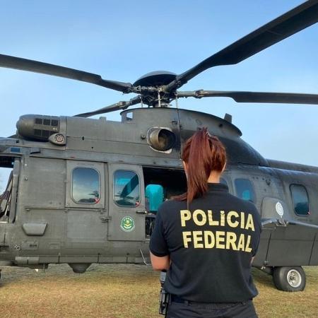 Operação, que contou com o apoio logístico do Exército e da Força Aérea, cumpriu 27 mandados de busca e apreensão - Divulgação/PF