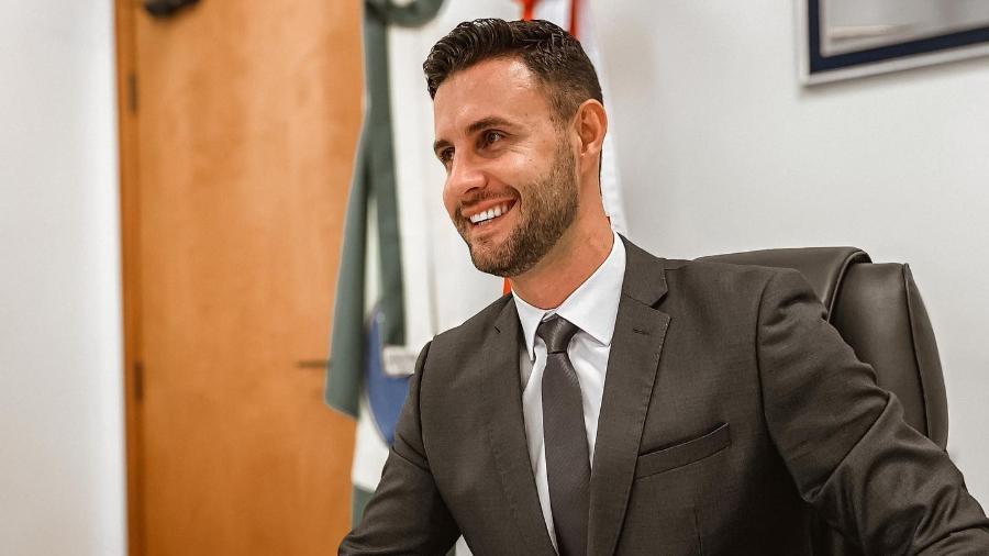Deputado estadual de Santa Catarina Felipe Estevão (PSL) - Reprodução/Facebook