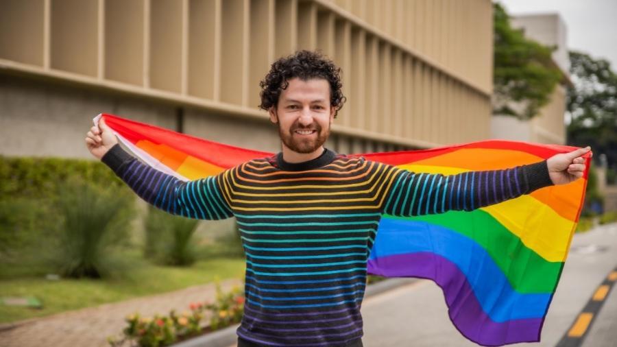 Nicolas Franco, líder de P&O da Novartis, passou 12 anos da carreira escondendo sua orientação sexual no ambiente profissional ? o que o motivou a buscar uma empresa inclusiva para trabalhar. - Acervo pessoal
