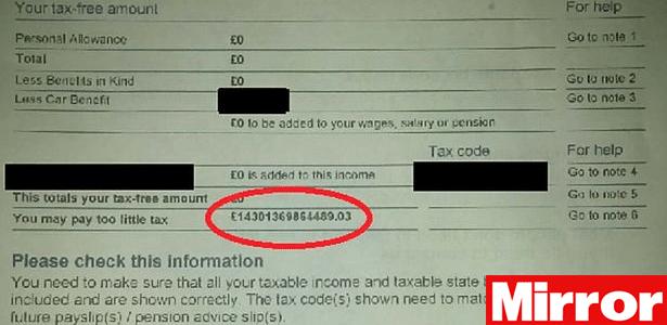 Mais de 14 trilhões. TRILHÕES! Já pensou se ele tivesse que pagar?