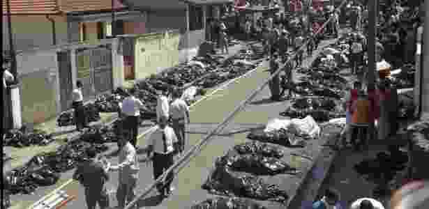 acidente tam 96 - 31.out.1996 - Moacyr Lopes Jr./Folhapress - 31.out.1996 - Moacyr Lopes Jr./Folhapress
