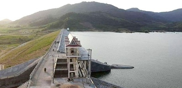 O reservatório de Suoi Vuc, no Vietnã