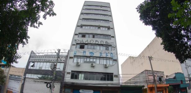 28.mai.2017 - Fachada do prédio na Bela Vista, região central de São Paulo