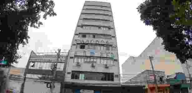 28.mai.2017 - Fachada do prédio na Bela Vista, região central de São Paulo - Marcelo Gonçalves/Estadão Conteúdo