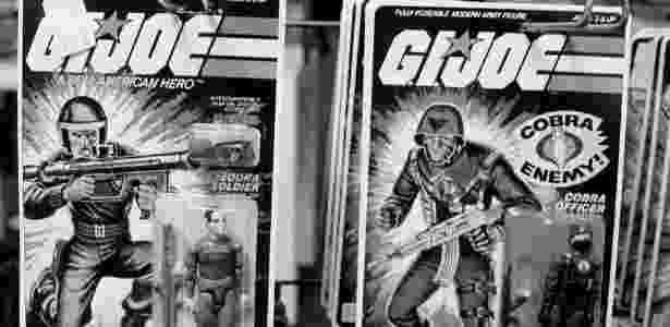 Bonecos do G.I. Joe fotografados em 1982 - DON HOGAN CHARLES/NYT - DON HOGAN CHARLES/NYT