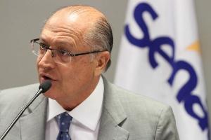 Alckmin diz que não abriu conversas com MDB porque partido tem candidato (Foto: Anderson Rodrigues/Fecomercio/Divulgação)