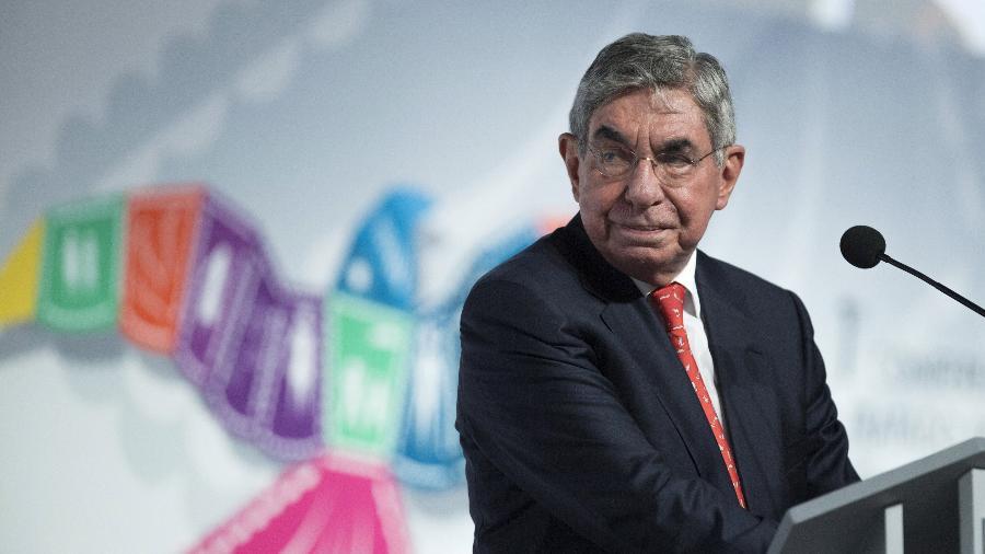 Oscar Arias, ex-presidente da Costa Rica e Prêmio Nobel da Paz - Reuters