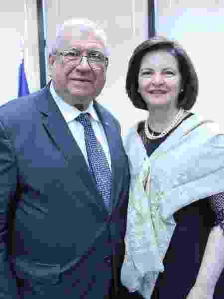 O subprocurador da República Alcides Martins, eleito vice-presidente do Conselho Superior do Ministério Público Federal), e a procuradora-geral, Raquel Dodge - MPF/Divulgação