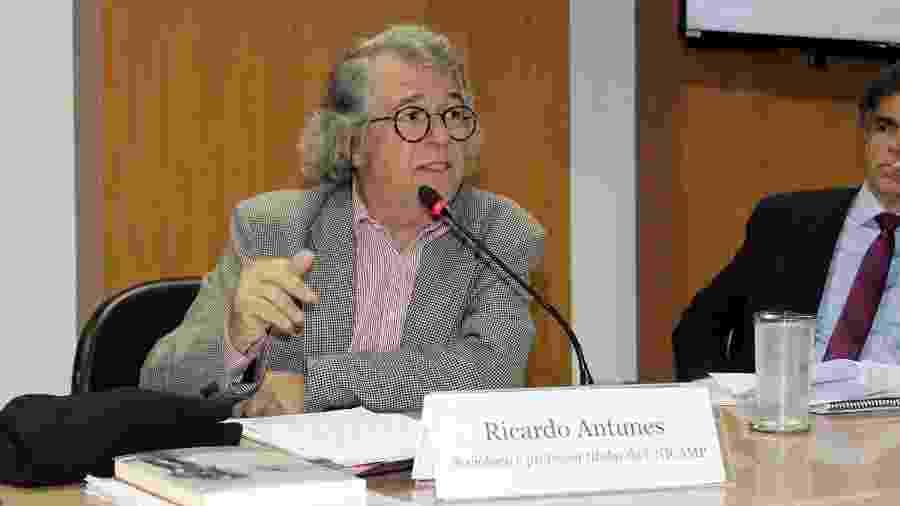 """Sociólogo Ricardo Antunes considera empreendedorismo um """"mito"""" - Divulgação"""