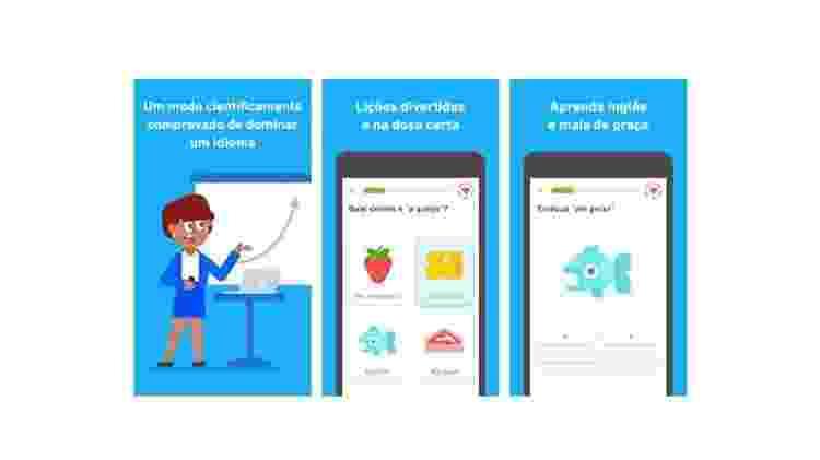 Duolingo: Aplicativos para aprender idiomas - Reprodução - Reprodução