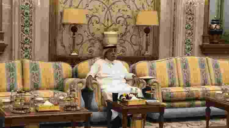 O ministro do Comércio e Investimento da Arábia Saudita, Majid bin Abdullah Al Qasabi - Luciana Amaral/UOL - Luciana Amaral/UOL