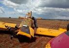 Piloto morre em queda de aeronave em fazenda em Minas Gerais - Corpo de Bombeiros de Minas Gerais