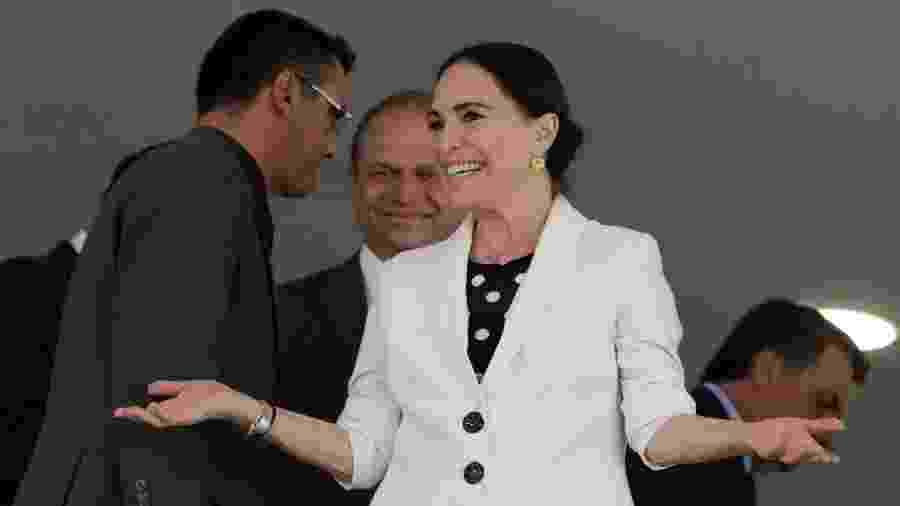 Regina Duarte, secretária da Cultura do governo Bolsonaro: tarefa dura demais  - Alan Santos/PR