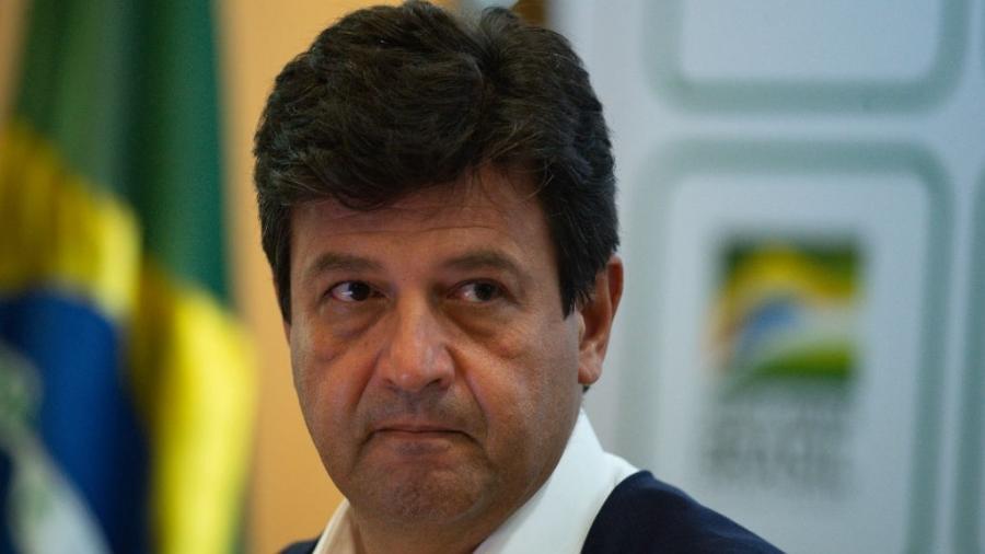 25.mar.2020 - O ministro da Saúde, Luiz Henrique Mandetta - Andressa Anholete/Getty Images