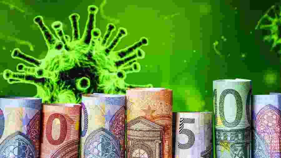 Dinheiro, coronavírus, covid, crise, economia - Getty Images/iStockphoto/Anastasiia Yanishevska