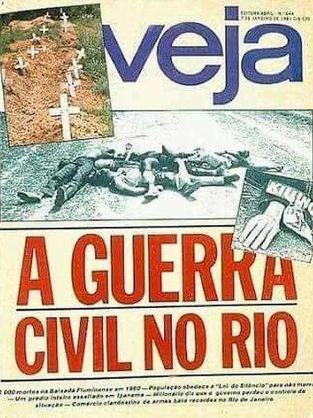 Capa da revista Veja de 1981 - Reprodução - Reprodução
