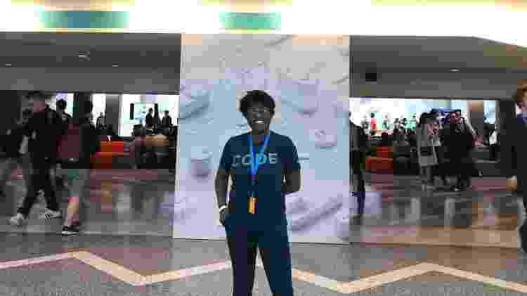 Ana Carolina Da Hora, wwdc 2018, evento da Apple - Arquivo pessoal - Arquivo pessoal