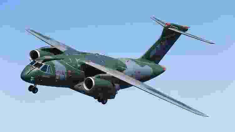 Aviões com asa alta são facilmente encontrados em grandes cargueiros, como o Embraer C-390 Millennium - Divulgação/Embraer - Divulgação/Embraer