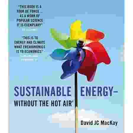 Sustainable Energy, por David MacKay - Reprodução/Amazon - Reprodução/Amazon