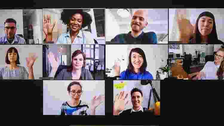 Seu comportamento nas videoconferências de equipe é muito importante - Getty Images - Getty Images