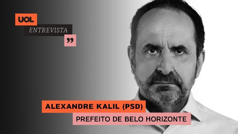 Alexandre Kalil participa do UOL Entrevista (25/01) - Arte/UOL