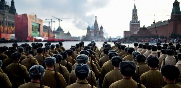 Rússia mata 10 guerrilheiros vinculados ao EI no Cáucaso - Kirill Kudryavtsev/AFP