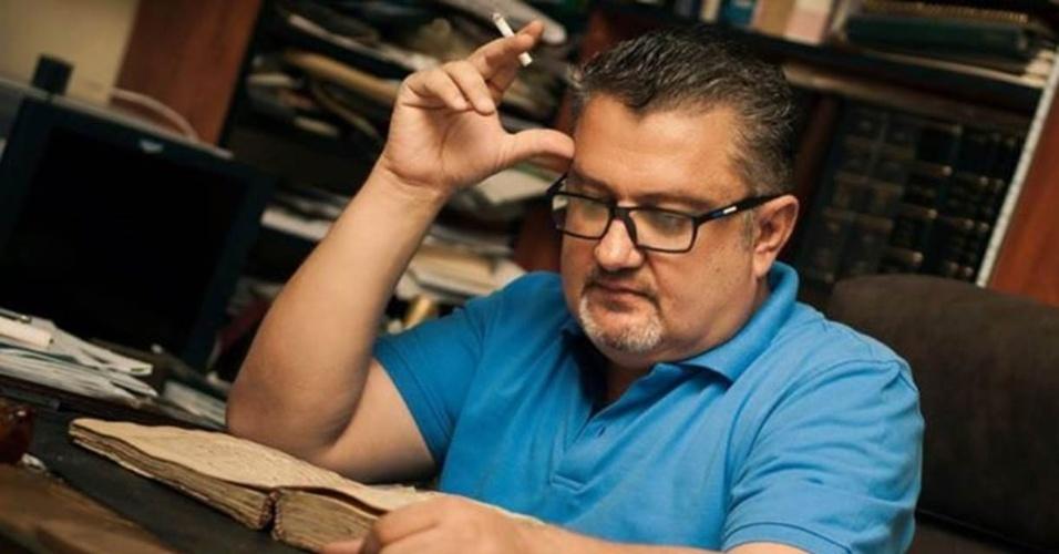 Alaa al-Sayyed resgatou documentos históricos em bibliotecas