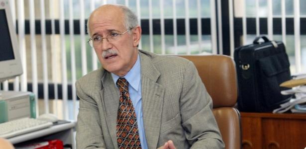 O ex-diretor-geral da Polícia Federal, Paulo Lacerda, em foto de 2004