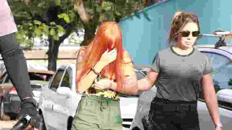 Namorada de traficante foi presa durante a Operação Salvator - Betinho Casas Novas/Futura Press/Estadão Conteúdo