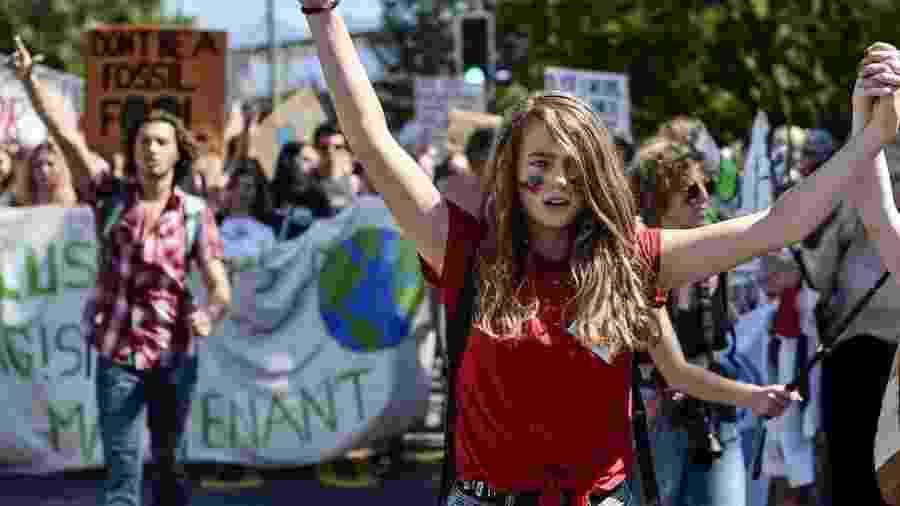 Enquanto os jovens protestam contra as mudanças climáticas, os grandes empresários exercem pressão de outra forma - Google