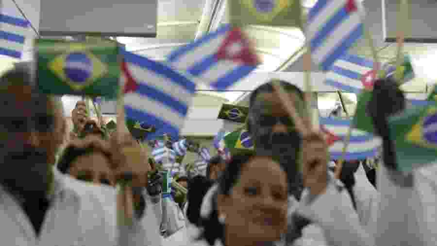 Cubanos do Mais Médicos acusam braço da OMS de tráfico humano e trabalho forçado - Divulgação/Ministério da Saúde via BBC
