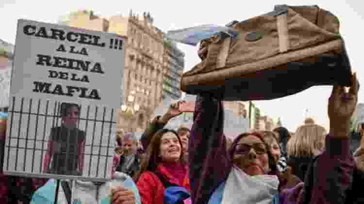 Os críticos ao peronismo, especialmente os contrários a Cristina Kirchner, são bastante viscerais - AFP - AFP