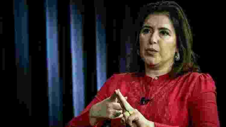 Simone Tebet (MDB-MS) em entrevista ao UOL e à Folha de S.Paulo, em Brasília - Kleyton Amorim/UOL