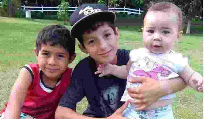 Os três irmãos foram soterrados na cidade de Alto Jequitibá (MG) - Arquivo Pessoal/ O Tempo