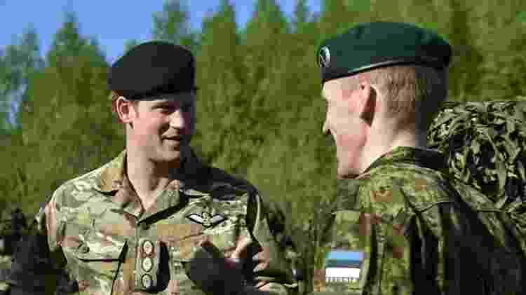 Príncipe Harry - Reprodução/Facebook/The Royal Family - Reprodução/Facebook/The Royal Family