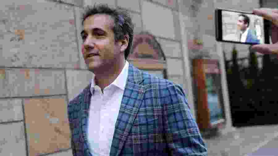 Michael Cohen trabalhou como advogado de Donald Trump por anos - Reuters