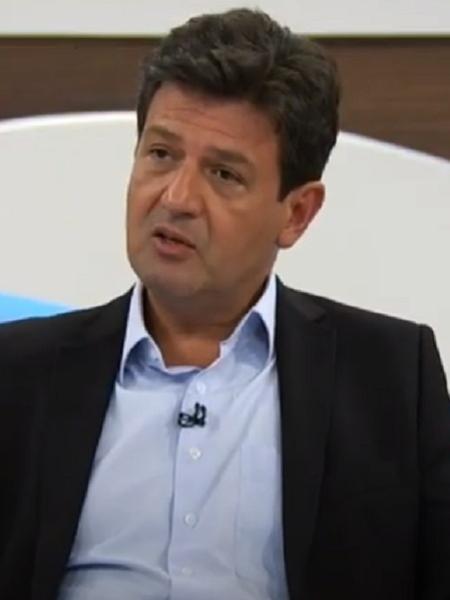 Luiz Henrique Mandetta (DEM), ex-ministro da Saúde, durante entrevista ao programa Roda Viva (TV Cultura) - Reprodução/TV Cultura