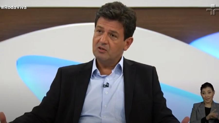 Ex-ministro Mandetta foi elogiado indiretamente por diretor durante votação da Anvisa - Reprodução/TV Cultura