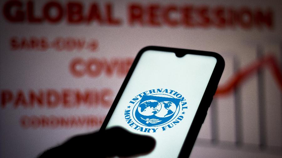 Logo do FMI: recomendação causou preocupação na equipe econômica brasileira - Getty Images