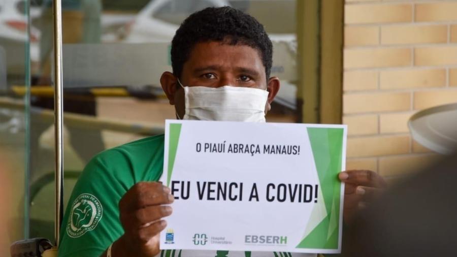 O venezuelano Leonardo Rafael Perez Cova, 46 - Divulgação HU/Romário Farias