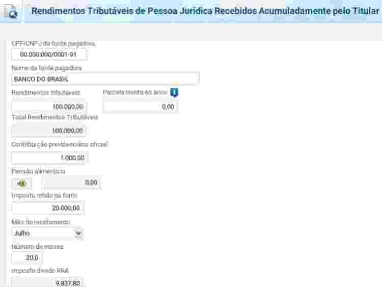 IR precatorio 1 - Reprodução - Reprodução