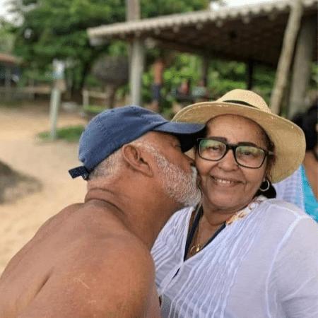 Nair e Higino estavam casados há 50 anos e deixam nove filhos e 20 netos - Reprodução/Arquivo Pessoal