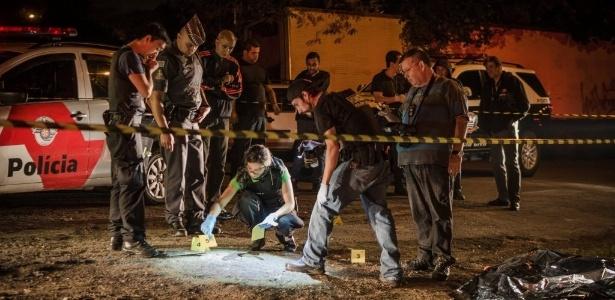 Dados do Ministério da Justiça mostram alta no número de homicídios em SP